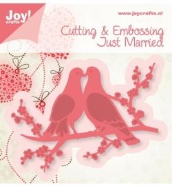 Joy! Cutting & Embossing - Duiven 6002/0383