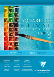 Clairfontaine Aquarelle Etival A4