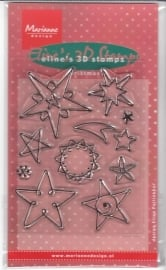 Eline`s 3D stamps EC0098