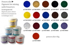Powercolor pigmentpoeder rood 40ml 0020