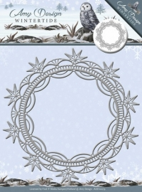 Die - Amy Design - Wintertide - Ice Crystal Frame ADD10079