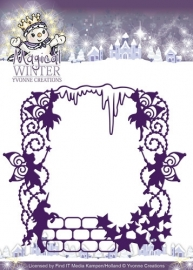 Die - Yvonne Creations - Magical winter - Magical Frame YCD10041