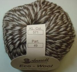 Annell Eco Wool 50gr Kleur 571