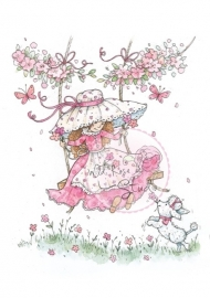 Wild Rose Studio Annabelle on Swing CL287