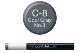Copic Ink refill Cool Gray C-8