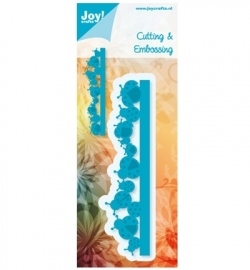 Joy! Cutting & Embossing - Rand - lieveheersbeestjes 6002/0370