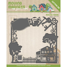 Die - Yvonne Creations - Moving Madness - Moving Frame YCD10097