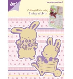Cutting & Embossing - Spring rabbits 6002/0436
