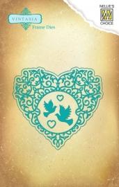Vintasia Die - Love Heart VIND026