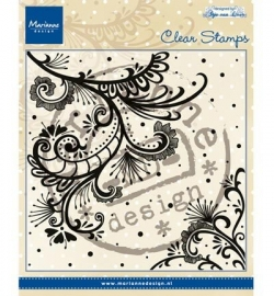 Marianne Design  clearstamp  Anja's swirl CS0939