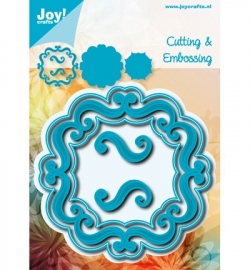 Joy! cutting & embossing Vierkant accolades 2 6002/0535
