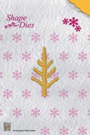 "Nellies Shape Dies SD021 Christmas ""pine branch"""