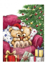 Wiold Rose Studio stamp set Teddy Giving CL276
