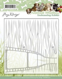 Embossing Folder  Amy Design  Animal Medley ADEMB10001