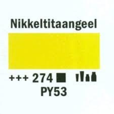Amsterdam Acrylverf 120ml 274 Nikkeltitaangeel
