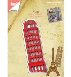 Joy! cutting & debossing Toren van Pisa 6002/0487