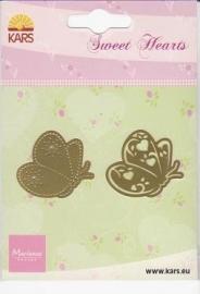 Sweet hearts mal vlinder SH0902