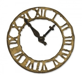 Bigz die Tim Holtz weathered clock