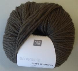 Soft Merino aran Kleur Taupe 44