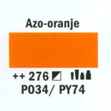 Amsterdam Marker 2-4mm  276 Azo Oranje