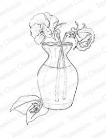 IO Pansy Vase F6010