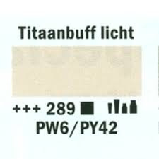 Amsterdam Acrylverf 120ml 289 Titaal buff licht
