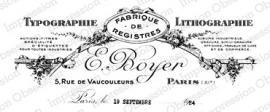 IO Rose Typographie F9285