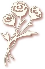 Wild Rose Studio`s Specialty die - Rose Bunch