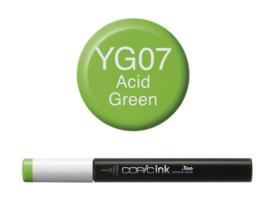Copic ink Reffil  Acid Green YG07