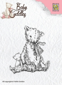 NS Clear Stamps - Baby Cuddles - Teddybears CSBC004