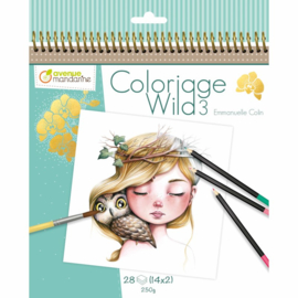 Coloriage Wild 3 door Emmanuelle Colin