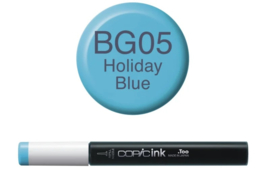 Copic Ink refill Holiday Blue BG05