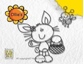 Clearstamps Ollies` Bunny Boy OL016