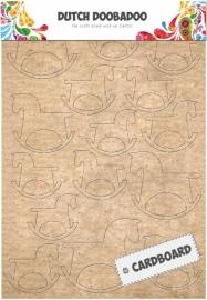 Dutch Doobadoo Cardboard Art hobbelpaard A5 472.309.006