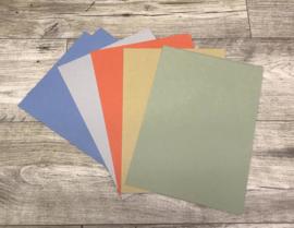 Rembrandt Toned Papier in 5 kleuren A4 10 vellen