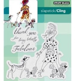 Penny Black Clingstamp Totally fabulous 40432