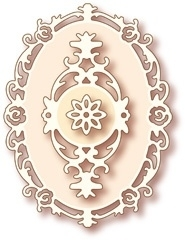 Wild Rose Studio`s Specialty die - Oval frame SD005