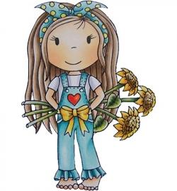 Paper Nest Dolls Sunflower Avery