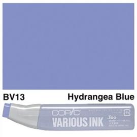 Copic Ink refill Hydrangea Blue BV13