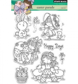 Penny Black Clearstamp Easter parade 30334