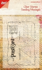 Joy! Noor! Stempel ENG - postcard stamp