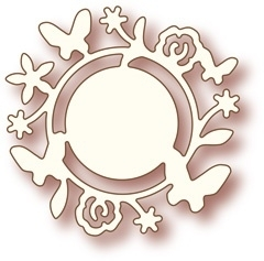 Wild Rose Studio`s Specialty die - Flower circle SD007