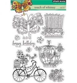 Penny Black Clearstamp Touch of whimsy 30339