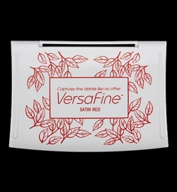 Versafine ink Satin Red