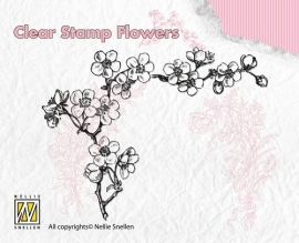 NS Clear Stamp Flowers - Blossom FLO005