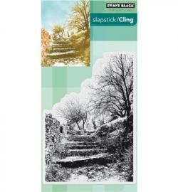 Penny Black Clingstamp Terraced lane 40448