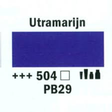Amsterdam Marker 8-15mm 504 Ultramarijn