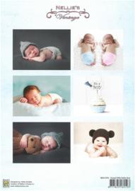 Decoupage sheet - Vintage - Baby-serie -Boy  NEVI076