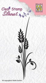 NS Clear stamps - Silhouet - Ears of corn SIL013