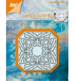 Joy! cutting Gerti's Vlinder kwartet 6002/0557